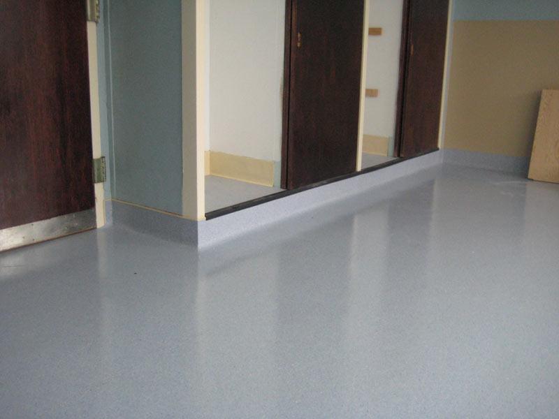 Commercial showroom top line floors for Sheet linoleum flooring